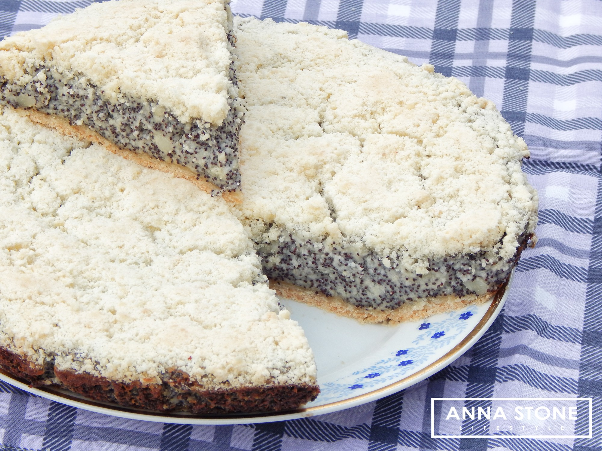 Image for Poppy seed cheesecake